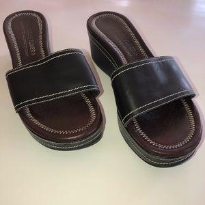 Donald J Pliner Senza Slide Wedge Sandals